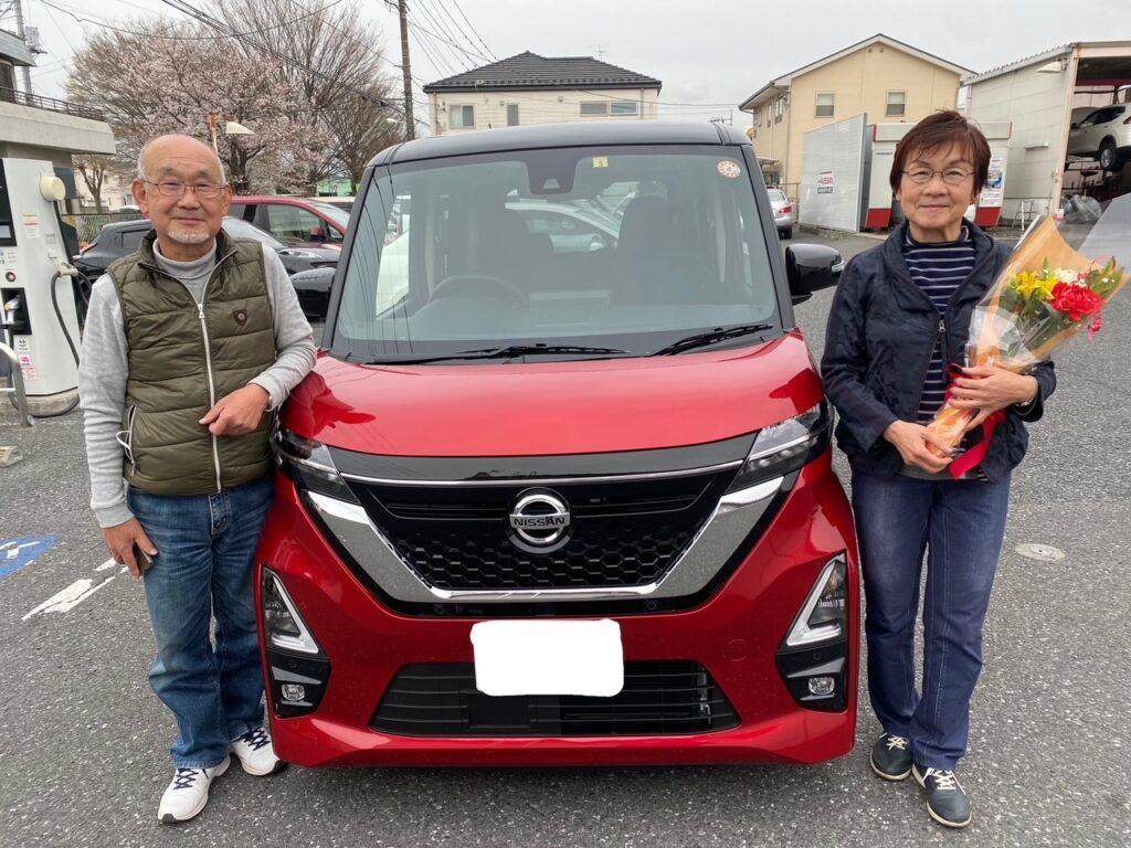 N様/飯能/飯能店 新車納車式