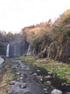 白糸の滝全体
