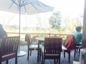 赤井カフェ景色