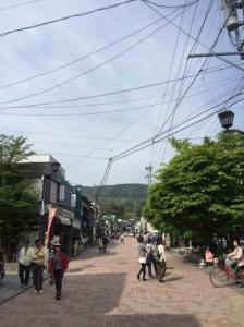 軽井沢町並み