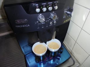 コーヒーがおいしくなりました。