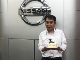 島沢課長 誕生日♪